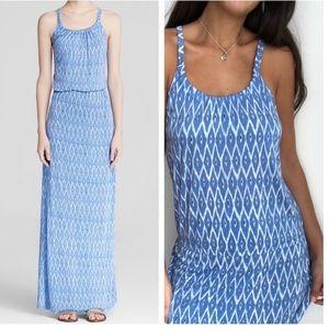 Joie Narod desert sky blue print maxi dress S